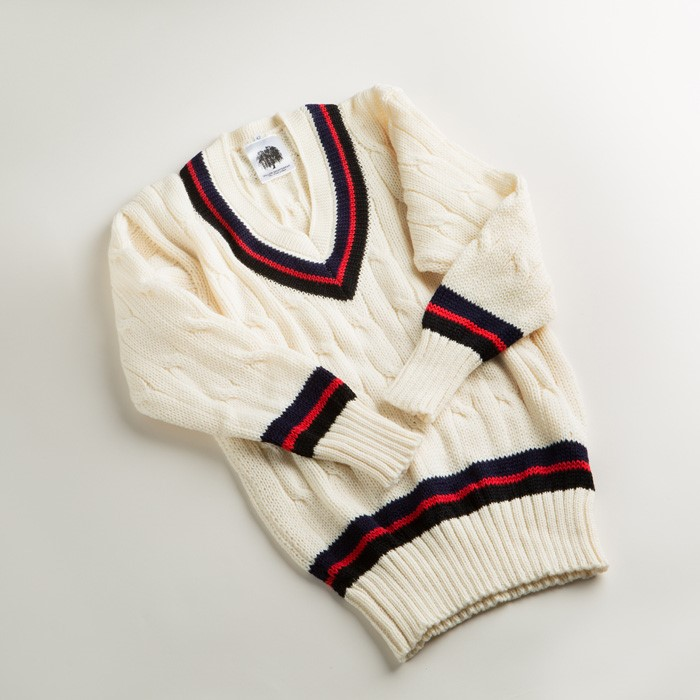 Long Sleeve Wool Cricket Sweater
